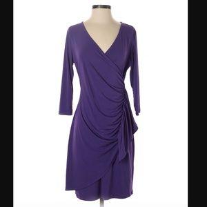 New York & Co Faux Wrap Dress